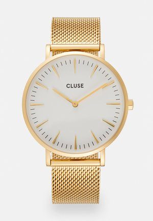 BOHO CHIC - Watch - gold-coloured/white