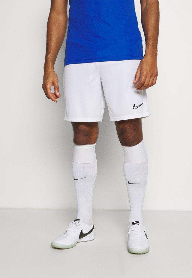 ACADEMY SHORT - Short de sport - white/black
