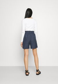 ONLY - ONLSMILLA VIVA LIFE LONG BELT  - Shorts - vintage indigo - 2
