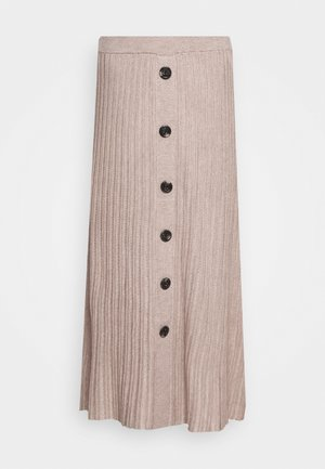 ANI - Maxi skirt - oxford tan melange