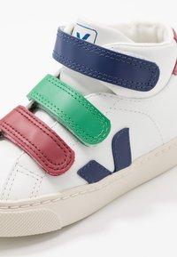 Veja - ESPLAR MID SMALL - High-top trainers - extra white/multicolor/cobalt - 2