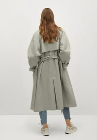 Mango - Classic coat - vert pastel - 1