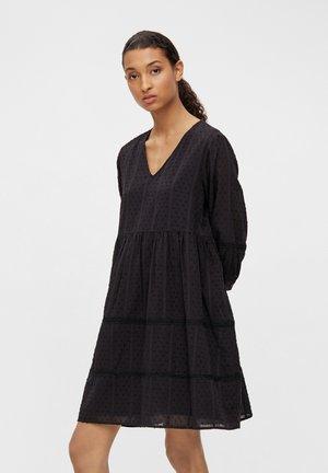 OBJGEILLIS 3/4 DRESS - Robe d'été - black