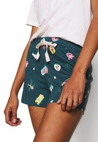 Marks & Spencer London - DEAL POOL - Pantaloni del pigiama - teal mix - 4