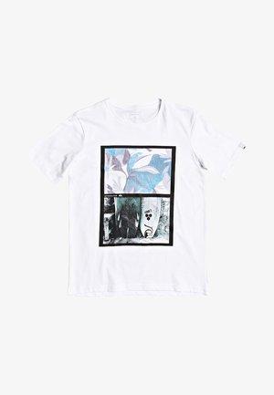 QUIKSILVER™ OVERSIZED - T-SHIRT FÜR JUNGEN 8-16 EQBZT04133 - Print T-shirt - white