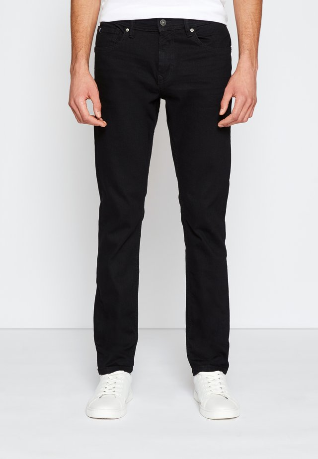 SUPER PIERS  - Jeans slim fit - black denim