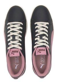 Puma - SMASH - Trainers - black-foxglove-burgundy-whi - 2