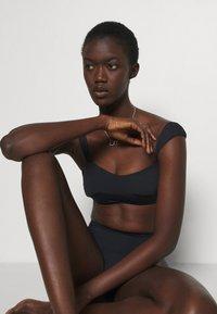 Seafolly - HIGH RISE PANT - Bikini bottoms - black - 3