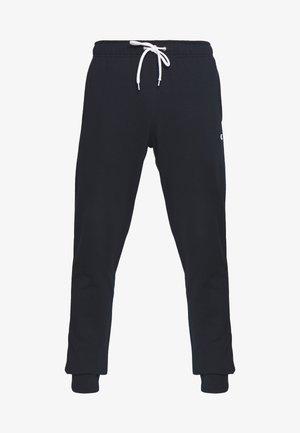 CUFF PANTS - Spodnie treningowe - navy