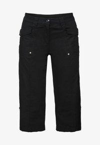 Sheego - Shorts - black - 4