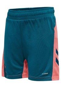 Hummel - ACTION  - Shorts - blue coral/tea rose - 2