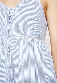 Superdry - DAISY MIDI - Korte jurk - blue stripe - 4