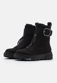 DKNY - LAINA - Lace-up ankle boots - black - 2