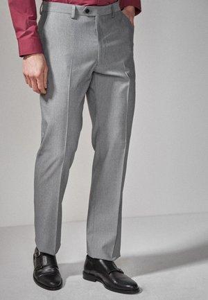 Oblekové kalhoty - mottled grey