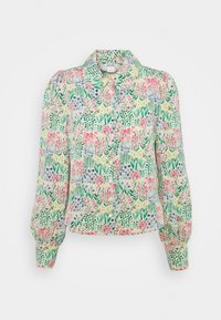 Monki - NALA BLOUSE - Košile - light green - 4