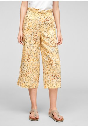 Trousers - sunlight yellow aop