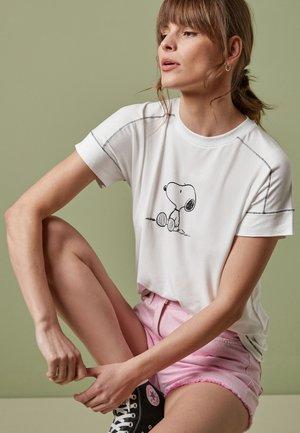 SNOOPY T-SHIRT - Print T-shirt - white