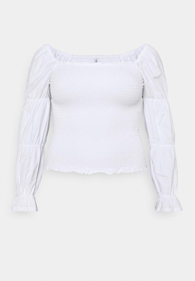 ONLDELI LIFE SMOCK - Pusero - bright white