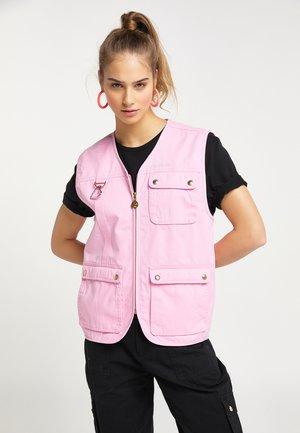 Weste - pink