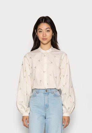 DENINA - Button-down blouse - ecru