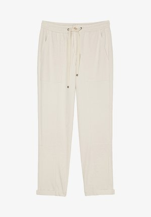 Trousers - chalky sand