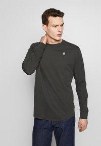 G-Star - LASH R T L\S - Långärmad tröja - raven - 0