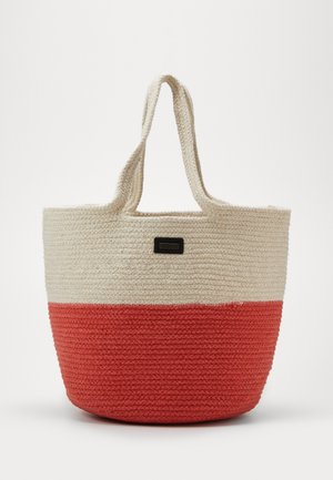 DAY BLOCKING CORD BAG - Shopping bag - camel beige