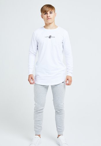 ILLUSIVE LONDON DUAL - Long sleeved top - white
