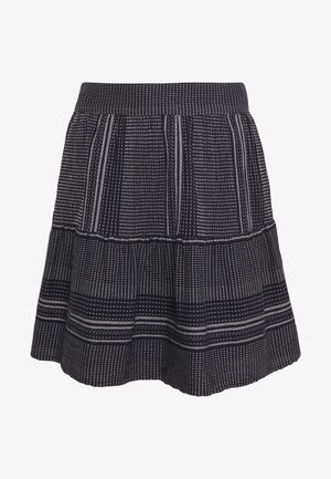 VMHAZEL SKIRT - A-line skirt - night sky/snow white