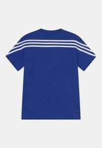 adidas Performance - TEE - T-shirt print - bold blue/white - 1