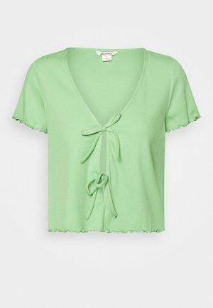 NILLAN - T-shirt con stampa - green