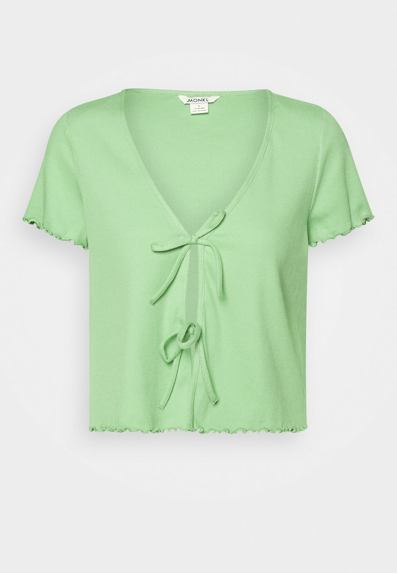 Monki - NILLAN - T-shirts med print - green