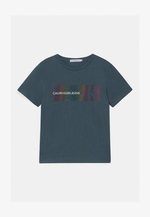 REFLECTIVE LOGO  - Print T-shirt - blue