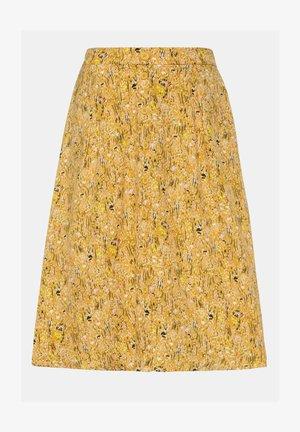 A-line skirt - maisgelb