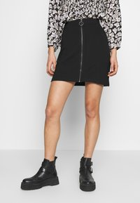 Even&Odd - A-line skirt - black - 0