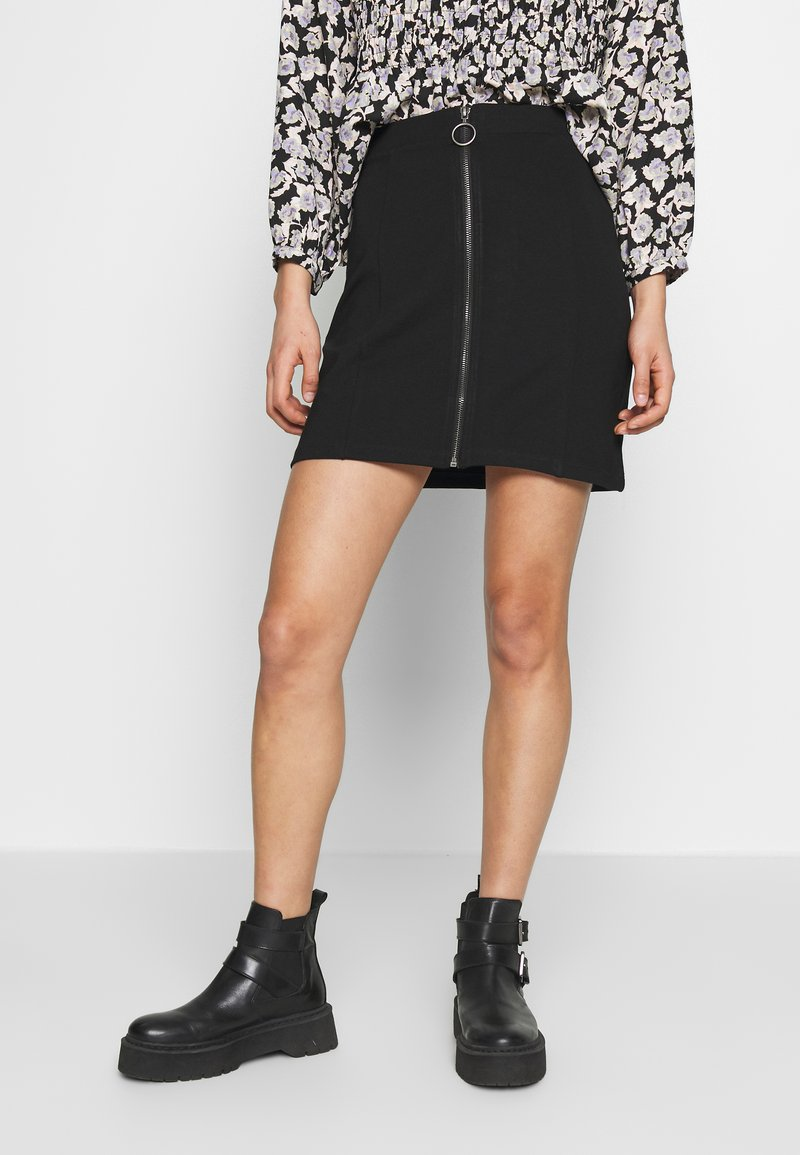 Even&Odd - A-line skirt - black