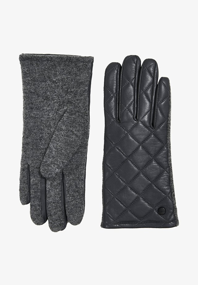 Gloves - gunmetal