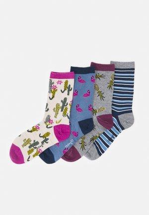 NETTIE SUMMER SOCKS BOX 4 PACK - Socks - multi