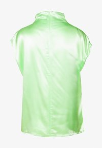 Weekday - RAYNE SHORT SLEEVED BLOUSE - Bluse - bright green - 1