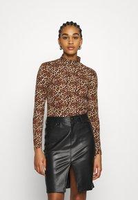 Monki - VANJA - Long sleeved top - brown - 0