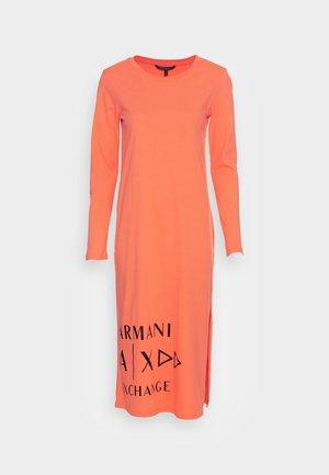 VESTITO  - Jersey dress - orange sorbet