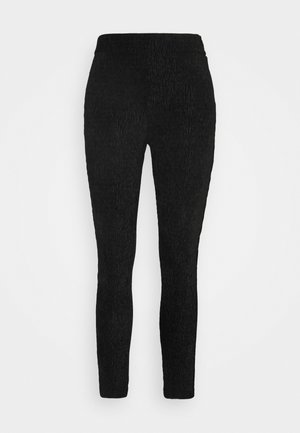 OBJVIOLET  - Leggings - Trousers - black