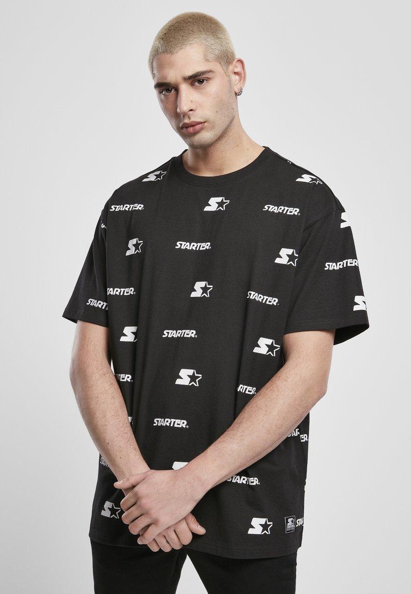 Starter - T-shirt imprimé - black