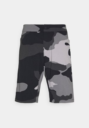 RANGER SHORT CAMO - Sports shorts - black