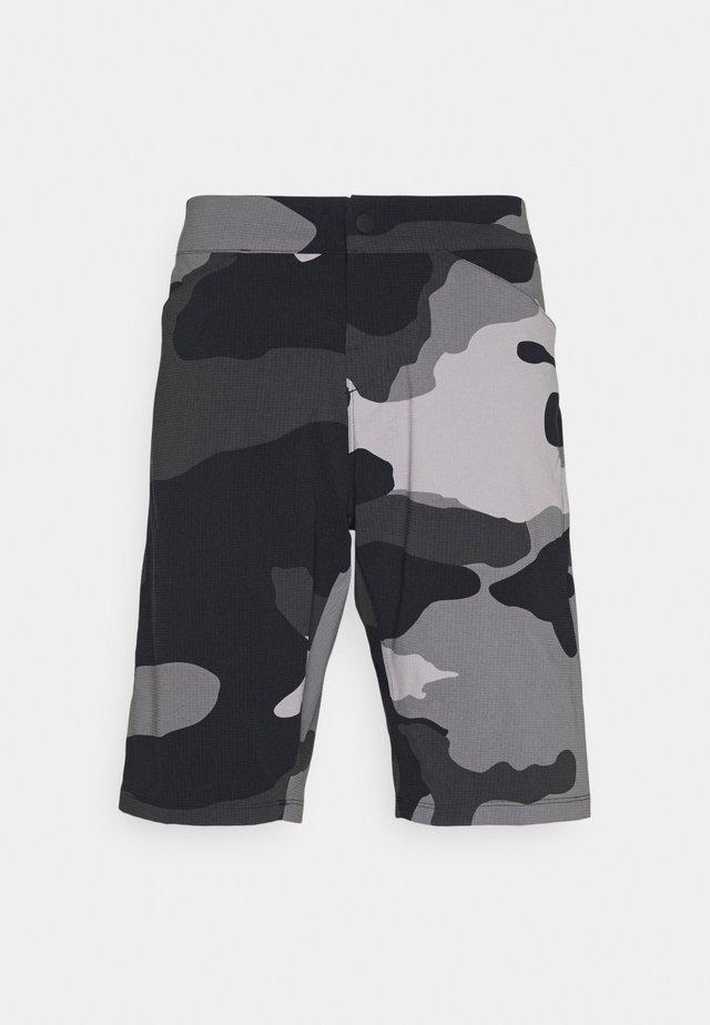 RANGER SHORT CAMO - Korte broeken - black