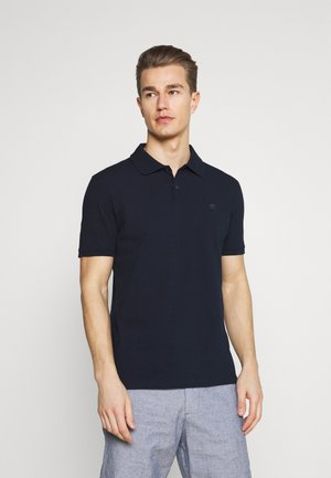 ORGANIC BRANDED - Polo shirt - preppy navy