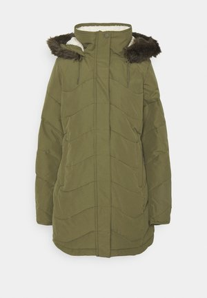 ELLIE - Winter coat - burnt olive