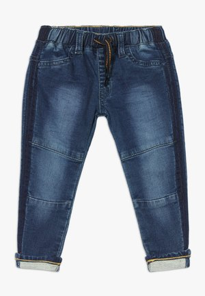 REGULAR FIT 5-POCKETS PANT MINOT - Relaxed fit jeans - stone used