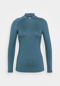 J.LINDEBERG - ÅSA SOFT COMPRESSION - Long sleeved top - orion blue - 4