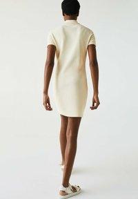 Lacoste - JURK - Shift dress - beige - 2